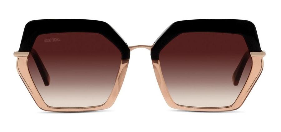 Unofficial UNGF17 Women's Sunglasses Brown/Black