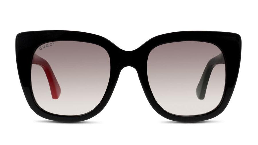 Gucci GG 0163S Women's Sunglasses Grey/Black