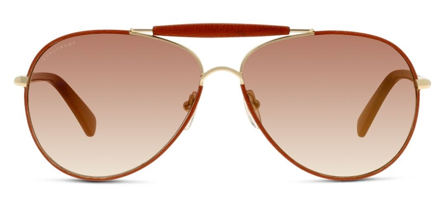Longchamp LO 100SL Women's Sunglasses Grey/Gold