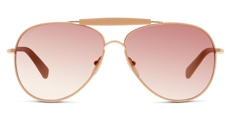 Longchamp LO 100SL Women's Sunglasses Black/Gold