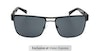 Barbour BS057 Men's Sunglasses Grey/Black