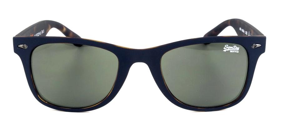 Superdry Rookie SDS 106 Men's Sunglasses Green/Blue