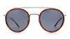 Vuarnet Edge VL1613 Men's Sunglasses Blue/Brown