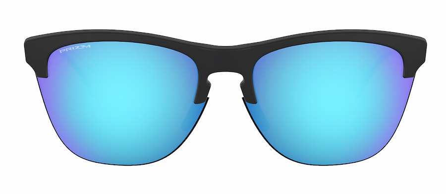Oakley Frogskins Lite OO 9374 Men's Sunglasses Blue/Black