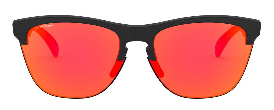 Oakley Frogskins Lite OO 9374 Men's Sunglasses Orange/Black