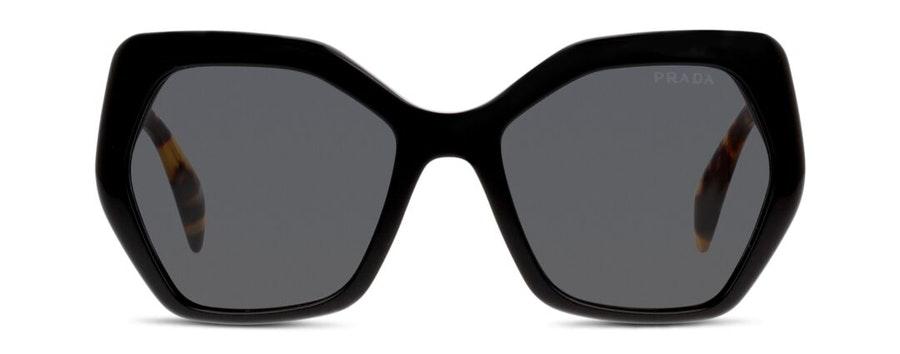 Prada PR16RS Women's Sunglasses Grey/Black