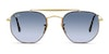 Ray-Ban The Marshall RB3648 Unisex Sunglasses Blue/Gold