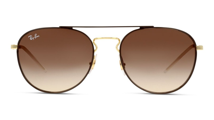 Ray-Ban RB 3589 Women's Sunglasses Brown/Gold