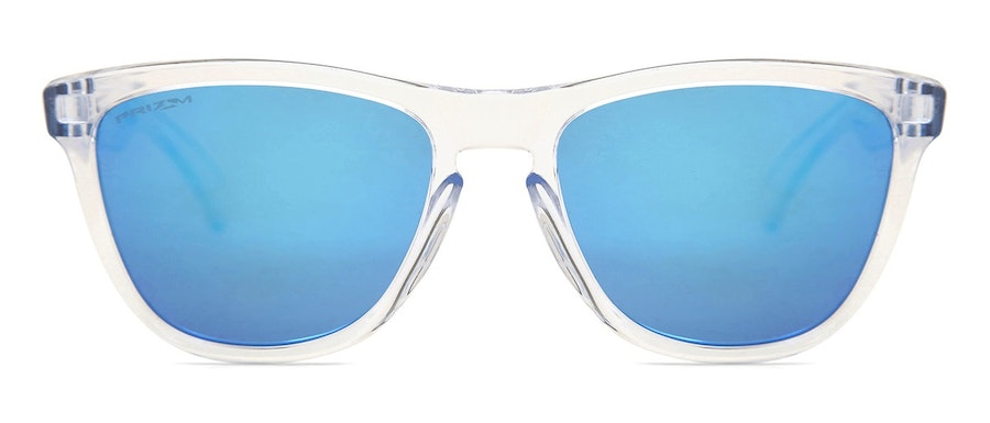 Oakley Frogskins OO9013 Men's Sunglasses Blue/Transparent