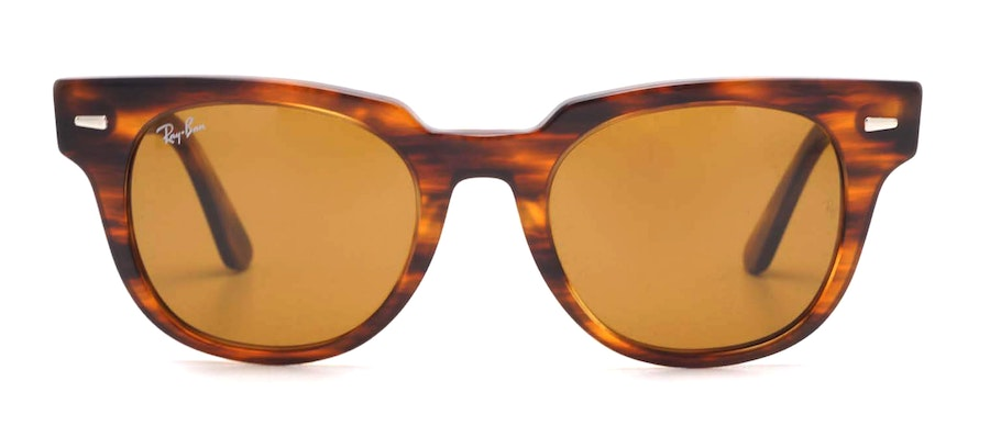 Ray-Ban Meteor RB2168 Unisex Sunglasses Brown/Tortoise Shell
