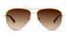 Tiffany & Co TF3062 Women's Sunglasses Brown/Gold