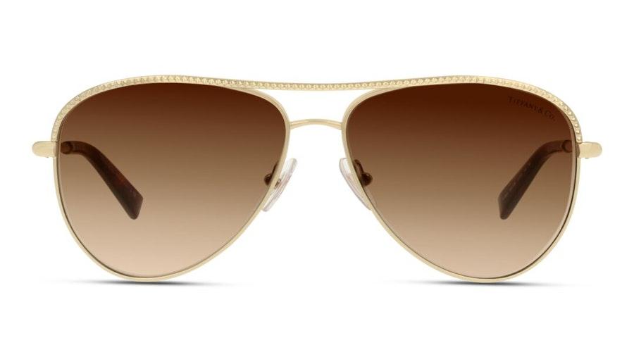 Tiffany & Co TF 3062 Women's Sunglasses Brown/Gold