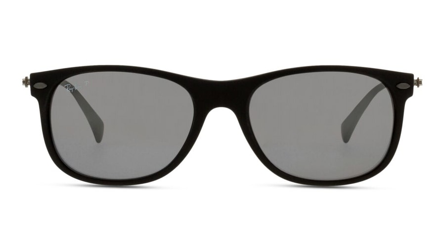 Ray-Ban RB 4318 Unisex Sunglasses Grey/Black