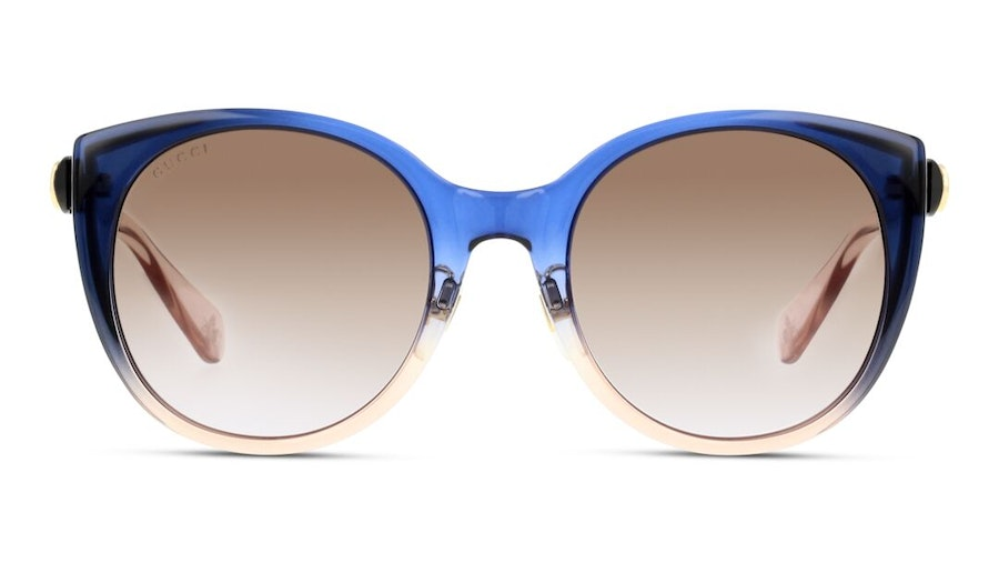 Gucci GG 0369S Women's Sunglasses Brown/Blue