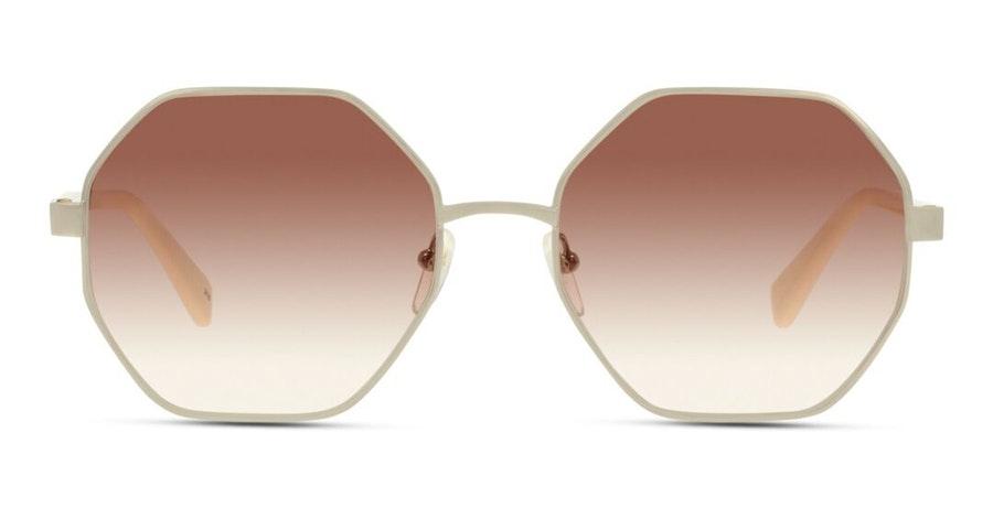 Longchamp LO106S Women's Sunglasses Brown/Silver