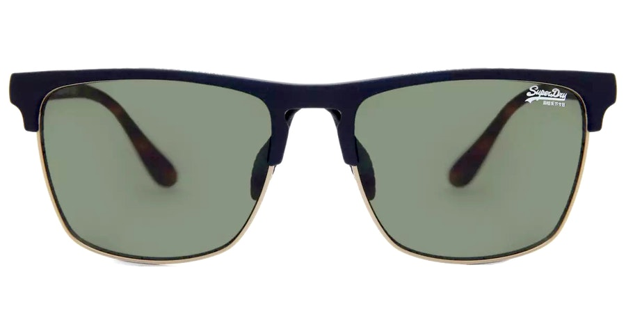 Superdry Superflux 106P Men's Sunglasses Green/Blue