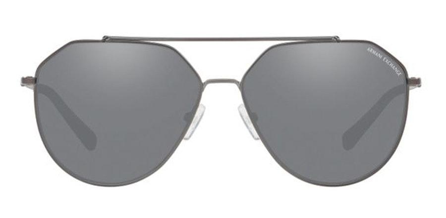 Armani Exchange AX 2023S Men's Sunglasses Grey/Grey