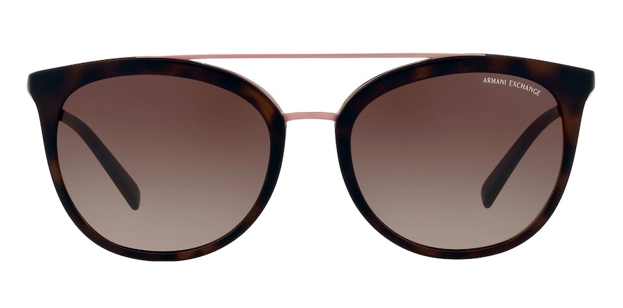 Armani Exchange AX 4068S Women's Sunglasses Brown/Tortoise Shell