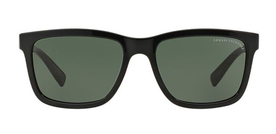 Armani Exchange AX 4045S Men's Sunglasses Green/Black