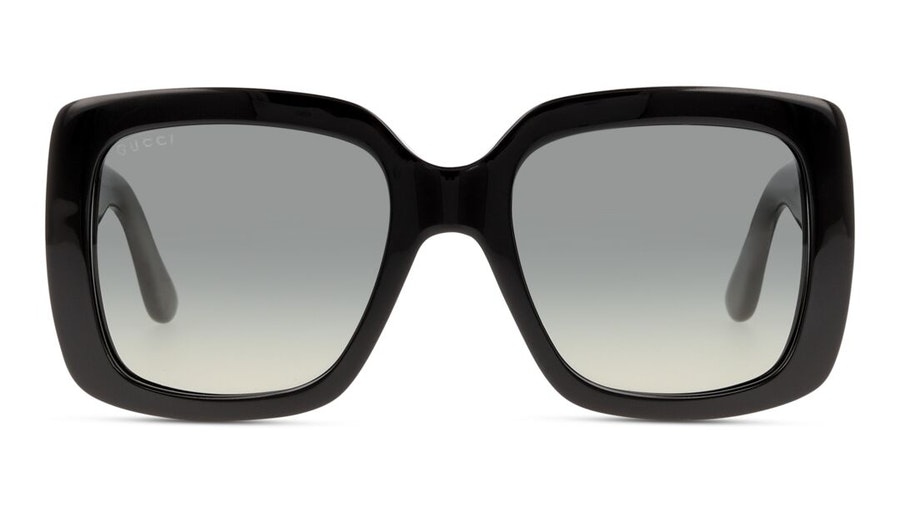 Gucci GG 0141S Women's Sunglasses Grey/Black