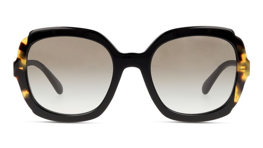 Prada PR 16US Women's Sunglasses Brown/Black