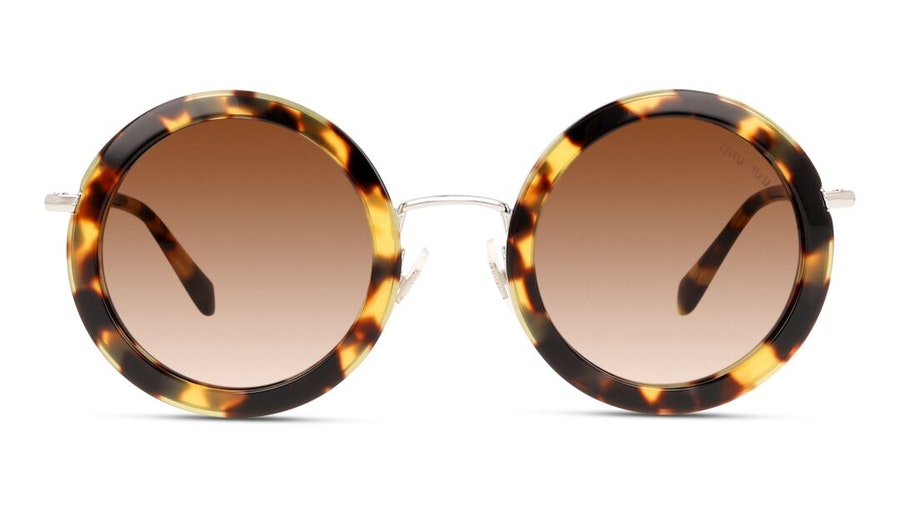 Miu Miu MU 59US Women's Sunglasses Brown/Tortoise Shell