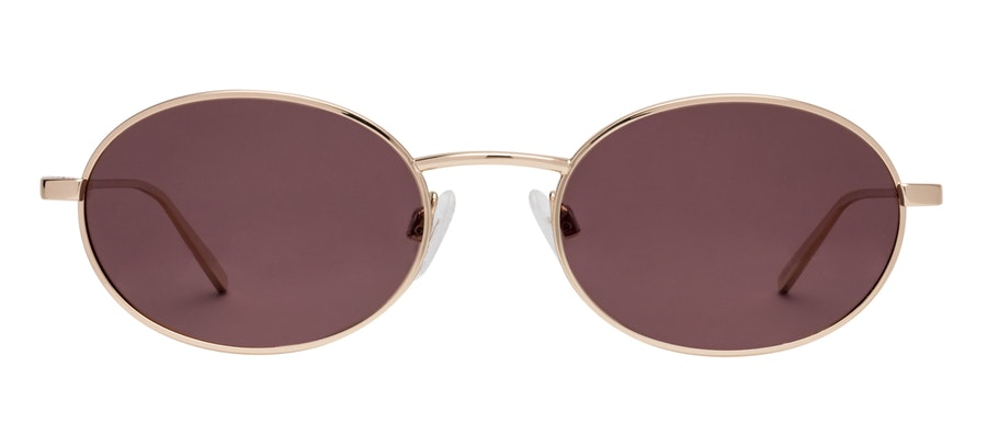 Prive Revaux Candy by Madelaine Petsch Unisex Sunglasses Red/Gold