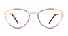 Eco Manila 689 Women's Glasses Gold