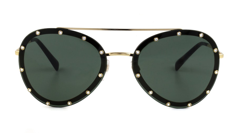 Valentino VA 2013 Women's Sunglasses Green/Gold