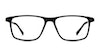 Eco Sanaga 689 Men's Glasses Black