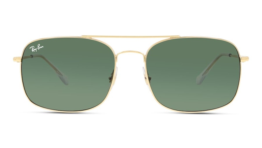 Ray-Ban RB 3611 Men's Sunglasses Green/Gold