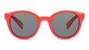 Polaroid Kids PLD 8036/S Children's Sunglasses Grey/Red