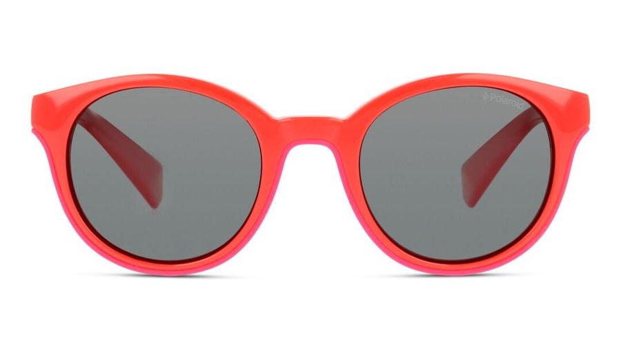 Polaroid Kids PLD 8036/S Children's Sunglasses Grey/Red