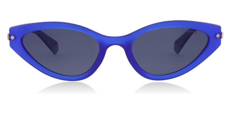 Polaroid Sleek Cat-Eye PLD 4074/S Women's Sunglasses Grey/Blue