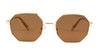 Polaroid PLD 6067/S Women's Sunglasses Orange/Gold