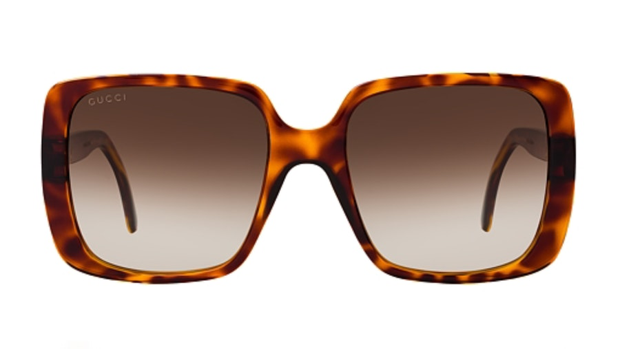Gucci GG 0632S Women's Sunglasses Brown/Tortoise Shell