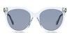 Gucci GG 0565S Women's Sunglasses Blue/Transparent