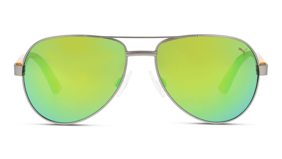 Puma Kids PJ 0027S Children's Sunglasses Brown/Grey