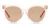 Gucci GG 0565S Women's Sunglasses Brown/Transparent