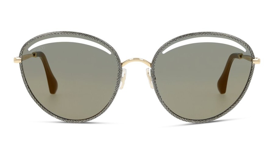 Jimmy Choo Malya Women's Sunglasses Grey/Gold