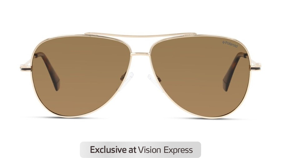 Polaroid PLD 6106/S Men's Sunglasses Bronze/Gold