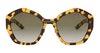 Prada PR08XS Women's Sunglasses Green/Tortoise Shell
