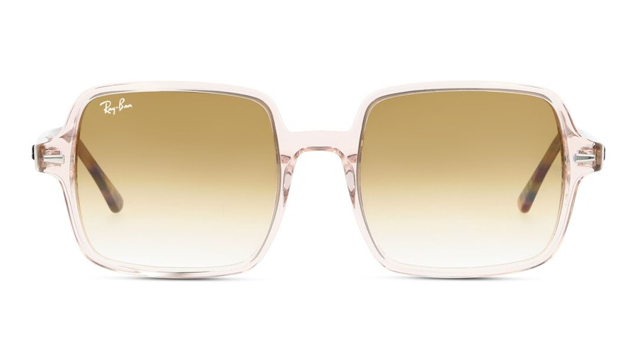 Ray-Ban Square II RB 1973 Women's Sunglasses Brown/Pink