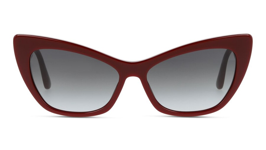 Dolce & Gabbana DG 4370 Women's Sunglasses Grey/Burgundy