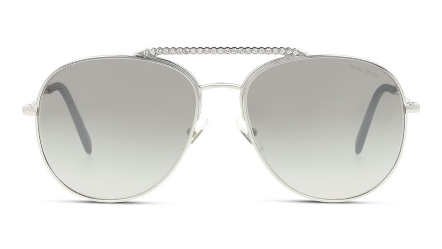 Miu Miu MU 53VS Women's Sunglasses Brown/Silver