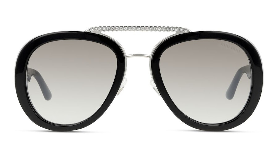 Miu Miu MU 05VS Women's Sunglasses Brown/Black