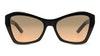 Prada PR07XS Women's Sunglasses Grey/Black