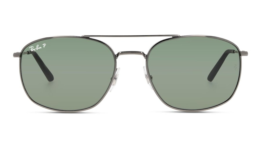 Ray-Ban RB 3654 Men's Sunglasses Green/Grey