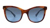 Ralph by Ralph Lauren RA5256 Women's Sunglasses Brown/Red