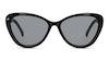 Prive Revaux Hepburn 2.0 Women's Sunglasses Grey/Black